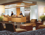 Photo: The Westin Detroit Metropolitan Airport is a 414-room luxury property adjacent to the McNamara Terminal. The hotel features a full-service restaurant, spa and massage services, and 36,000 square feet of flexible meeting space. CREDIT: Wayne County Airport Authority.