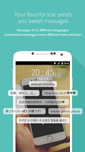 Mydol- Lockscreen, Virtual chat - náhled