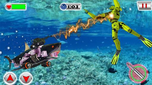 Shark Robot Transformation - Robot Shark Games 1.1 screenshots 8
