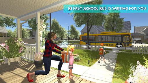 Télécharger Gratuit Virtual Mother Happy Housewife Family Game APK MOD (Astuce) screenshots 3