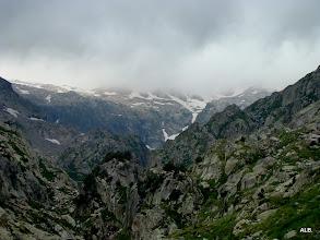 Photo: Las cumbres siguen cerradas.