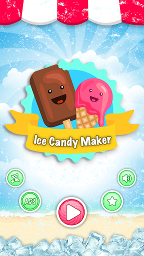 Ice Candy Maker - Ice Popsicle Maker Cooking Game  screenshots 1