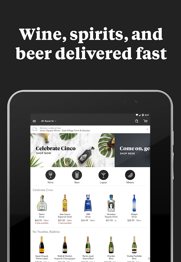 Minibar Delivery- screenshot