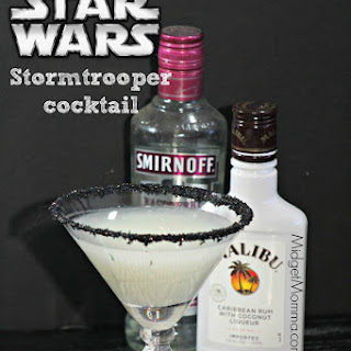 Raspberry Coconut Storm Trooper Cocktail