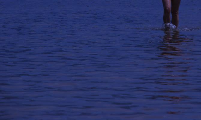 Uscendo dall'acqua di luiker