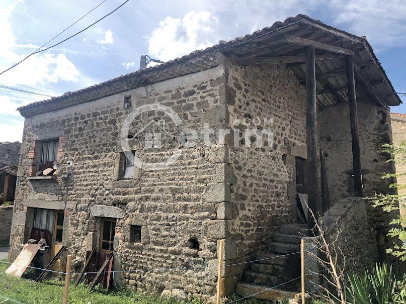 Vente maison 4 pièces 90 m² à Isserteaux (63270), 28 000 €