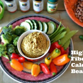 High Fiber, Low Calorie Bean Dip.