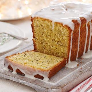 Gluten-free Lemon Drizzle Cake.