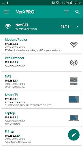 NetX Network Tools android2mod screenshots 1