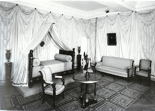 Photo: An early 19th c. bedroom in Chateau Malmaison