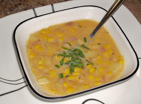 Turkey Bacon Corn Chowder Recipe
