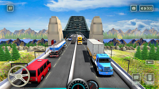 American truck driver simulator: USA Euro Truck 1.0 screenshots 1