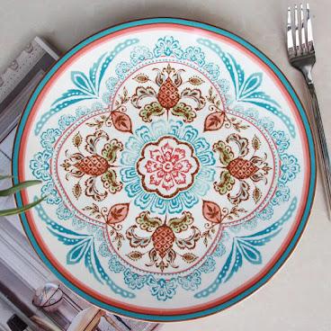 Mediterranean style plate