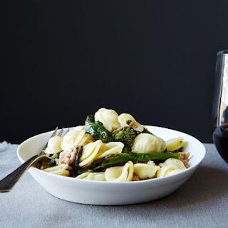 Orecchiette with Broccoli Rabe and Sausage Recipe