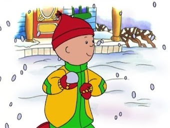 Caillou at the beach/New shoes/Caillou's snowman/Caillou is a clown/Caillou's special friend