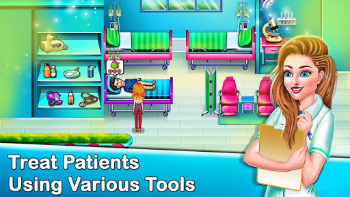 Code Triche Doctor Hospital Operation Time Management Game APK MOD screenshots 1
