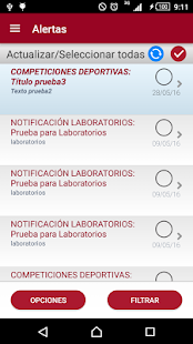 Universidad de Murcia App- screenshot thumbnail