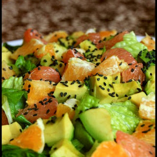 Middle Eastern Avocado Citrus Salad