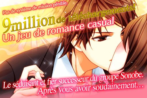 Code Triche Dans le secret de mon coeur: Otome games français APK MOD (Astuce) screenshots 1