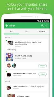 Saavn Music & Radio - screenshot thumbnail