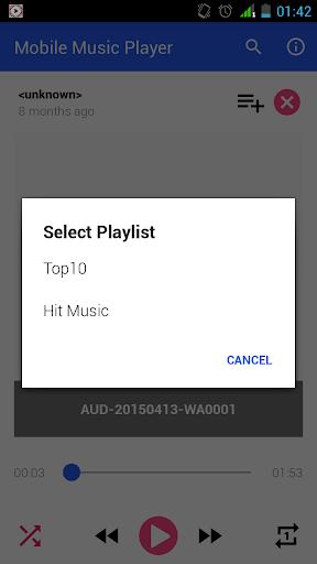 移动音乐下载程序