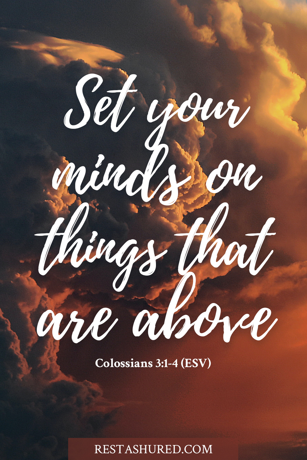 Photo of Bible verse for Colossians 3:1-4