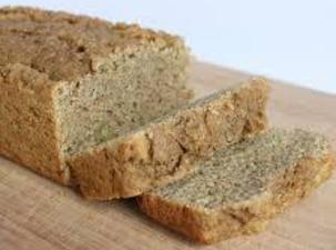 This is one shot of the interesting 'fruit' bread, made with avocados!