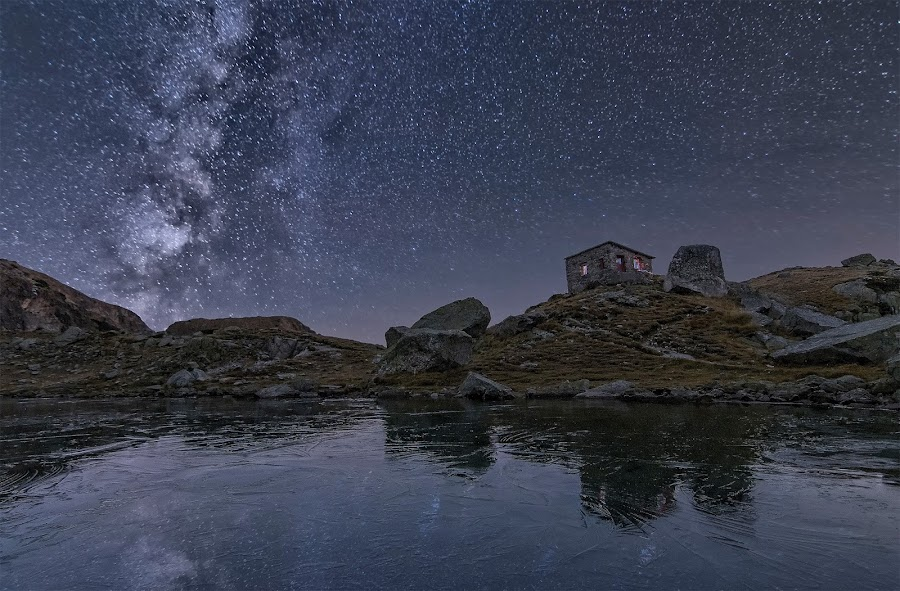 The scary lake by Nikolai Alexiev - Landscapes Starscapes