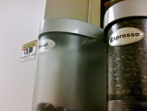 Photo: Decaf almost empty? ...hmmmm...weird! :)  #coffeethursday   +Coffee Thursday curated by +Jason Kowing and +Cheryl Cooper