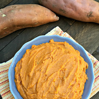 Maple Mashed Sweet Potatoes Recipe