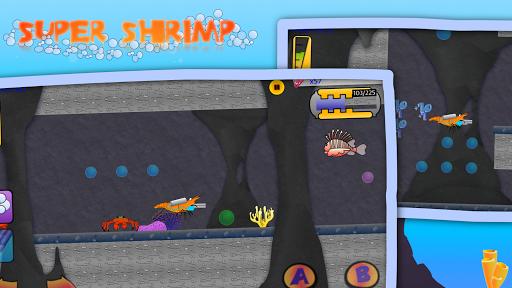 Télécharger Gratuit Super Shrimp: Ocean Platformer apk mod screenshots 4