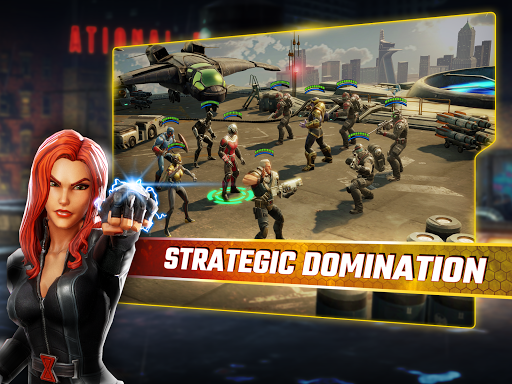 MARVEL Strike Force 1.3.2 gameplay | by HackJr.Pw 15