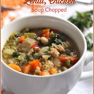 Chunky, Sauerkraut, Kale, Lentil, Chicken, Soup Chopped