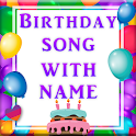 Birthday Video Maker App : Birthday Song With Name icon