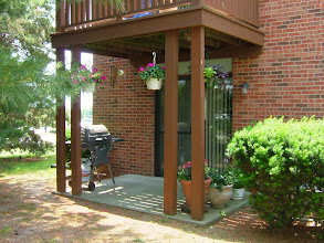 Photo: Private deck or patio with each apartment home