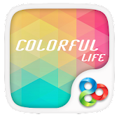 Colorful Life GOLauncher Theme