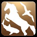 Animal detector simulator icon
