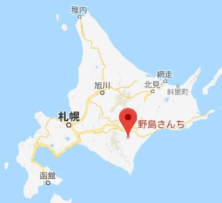 地図:ファームレストラン野島さんち