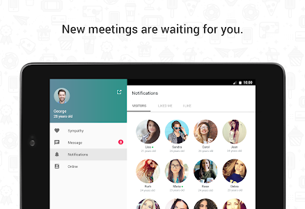 Hitwe - meet people for free screenshot 6