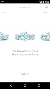 Tiffany Engagement Ring Finder- screenshot thumbnail