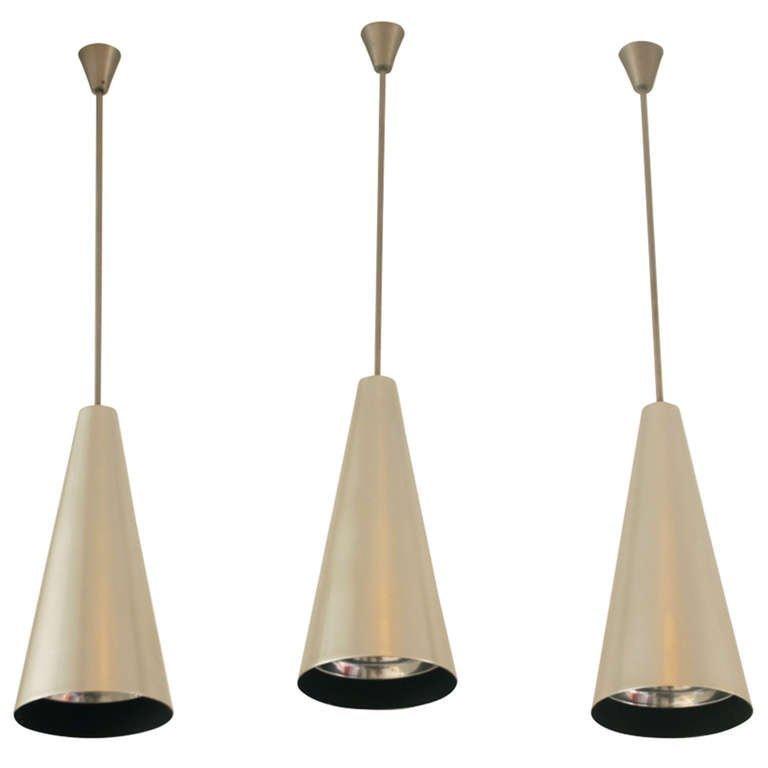 Cone vintage pendant