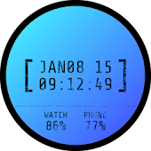 Date Stamp Watch Face