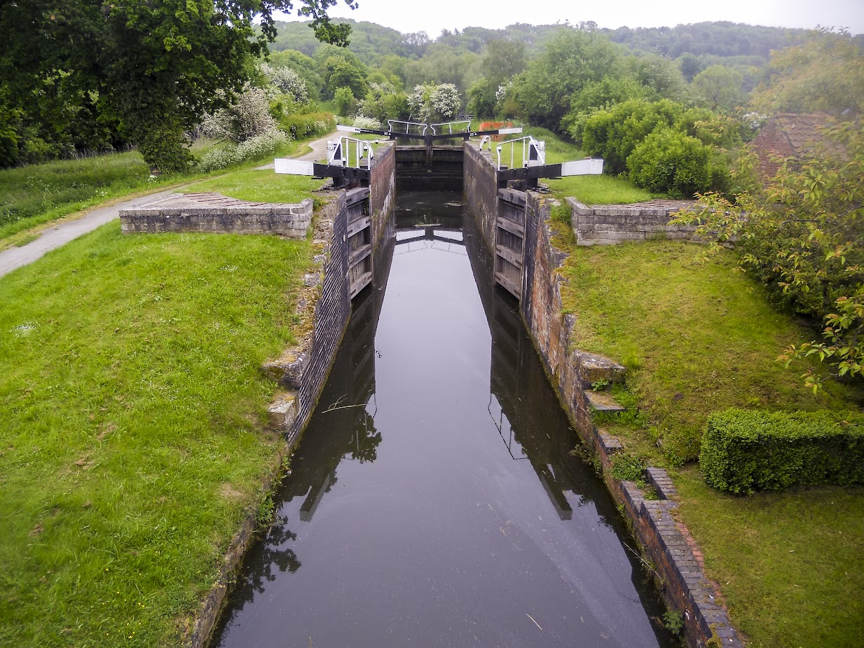 Woolsthorpe Middle Lock 17, on Grantham Canal