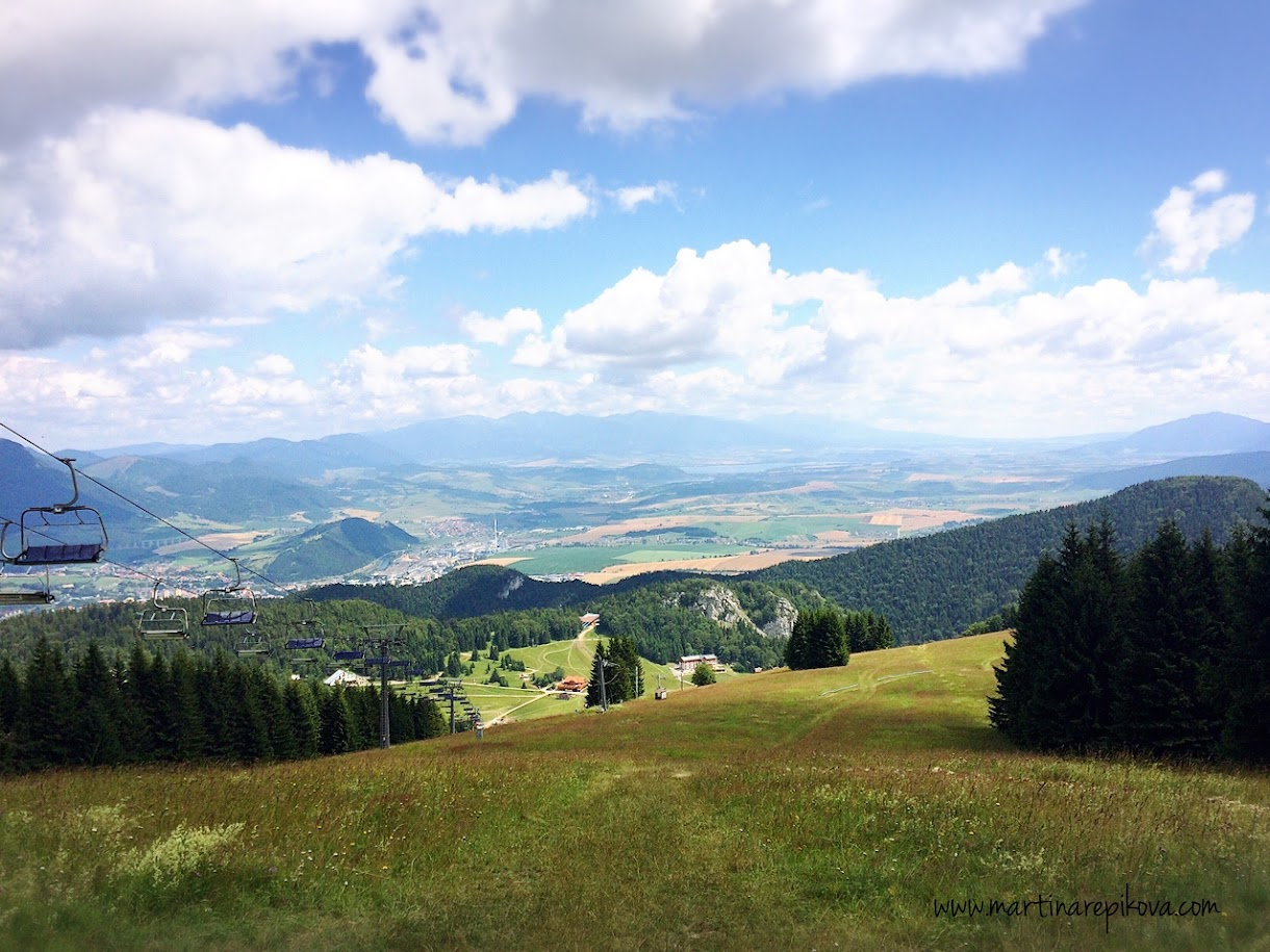 View from the top of Malino Brdo, Slovakia