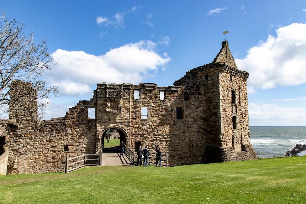 Szkocja, St Andrews Castle