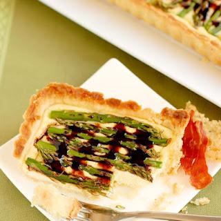 Asparagus & Goat Cheese Tart.