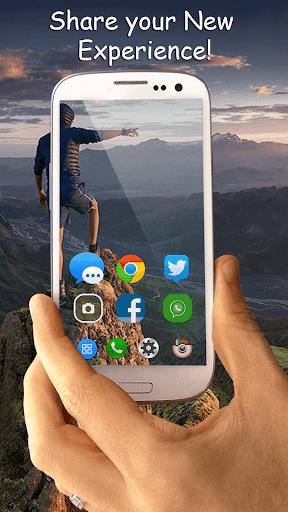 Transparent Phone Trick