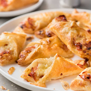 Ham and Cheese Puffs.