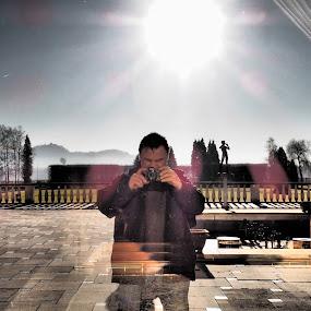 Mirror by Iztok Conic - People Professional People ( selfie, photos, mirror, self portrait )