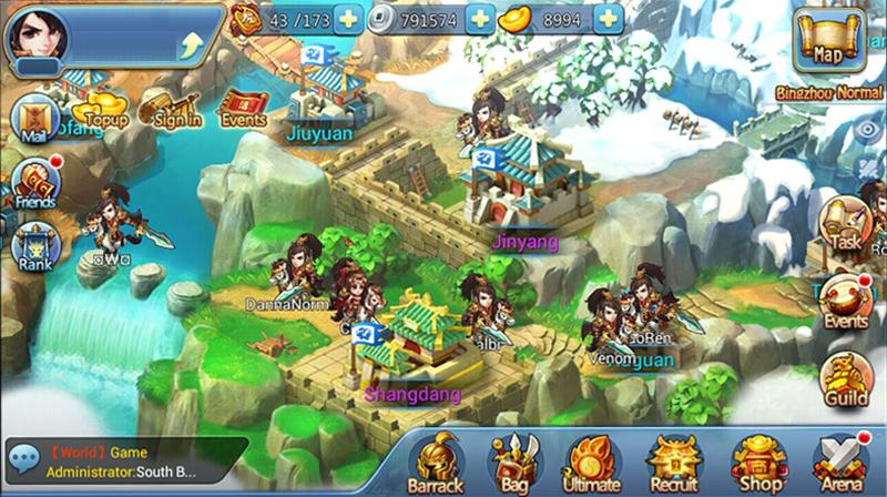 Chibi 3 Kingdoms- screenshot